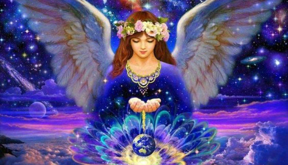 L'ange d'abondance subvient à vos besoins matériels