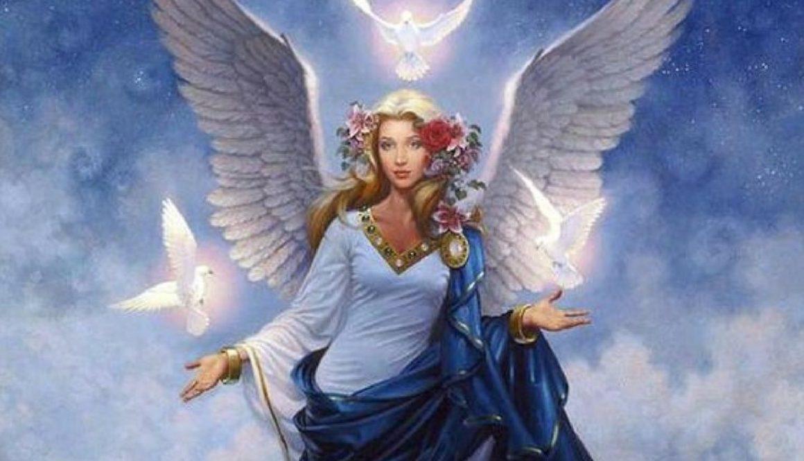 Ange de la paix passeur d'âmes