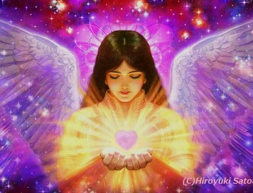 Un ange Gardien déploie sa lumière pour vous protéger