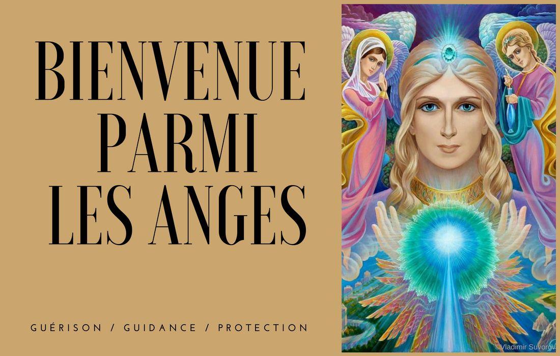 Bienvenue chez les Anges avec Prananina : guérison, guidance et protection des Anges et des Archanges